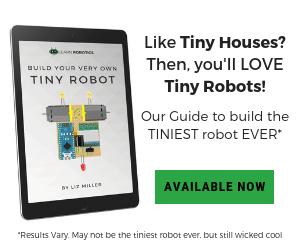 built a tiny arduino robot