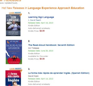 Learning Sign Language at Amazon in the Hot New Releases