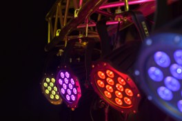 DMX stage lighting