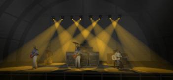 Band Stage Lighting