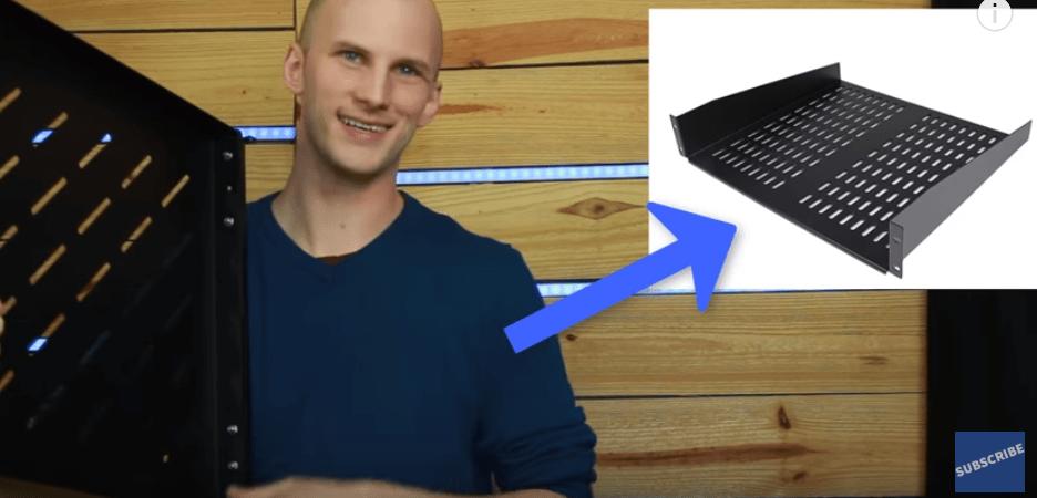 PC-Based Lighting Console Rack