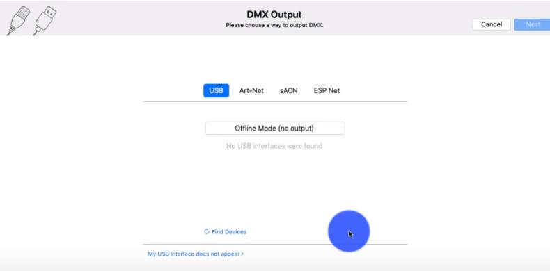 DMX Settings