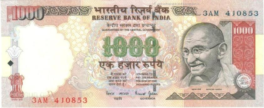 1000 rs note