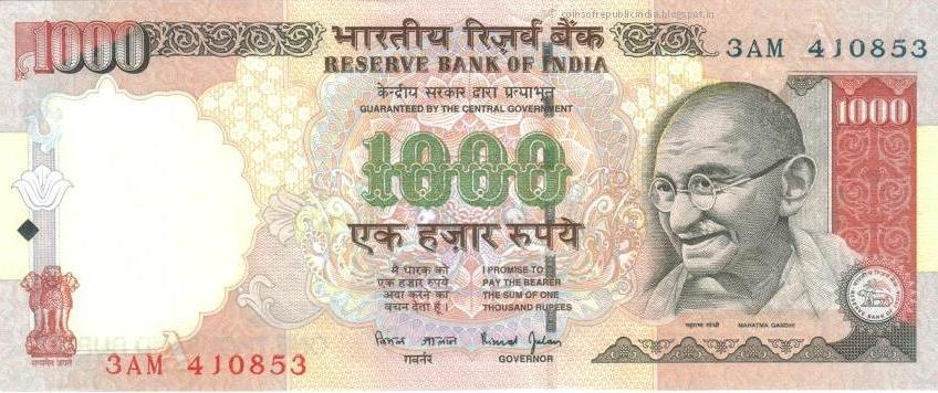 What if you burn your 1000 Rs Note? What will be the effect on Indian Government. Does India gets poor by thousand rupees?