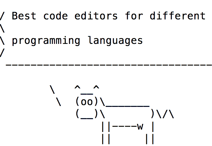 Best code editors for different programming languages
