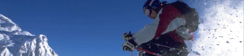 learn to ski vacation holiday