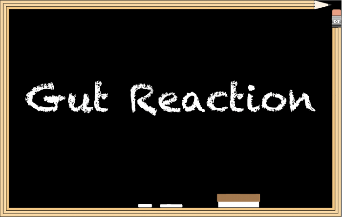 """Gut reaction""是怎樣的反應? - Learn With Kak"
