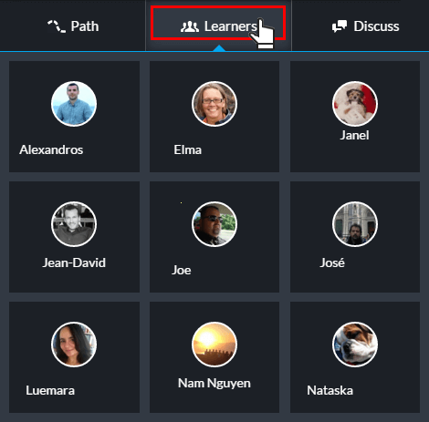 Connect and network with classmates