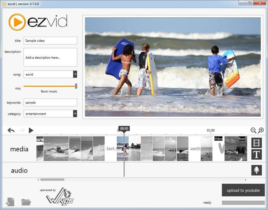 Ezvid Screenshot