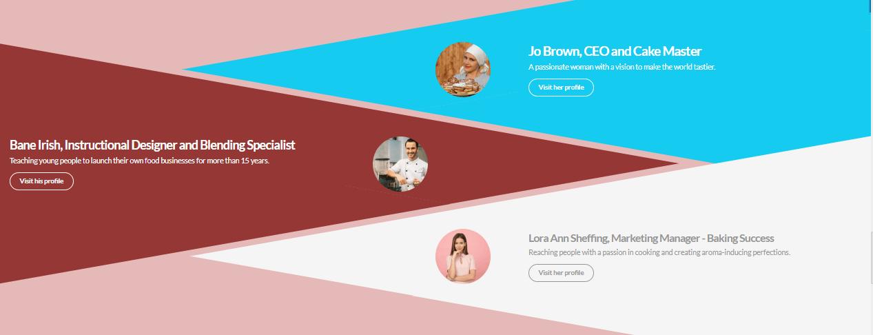 Team presentation template