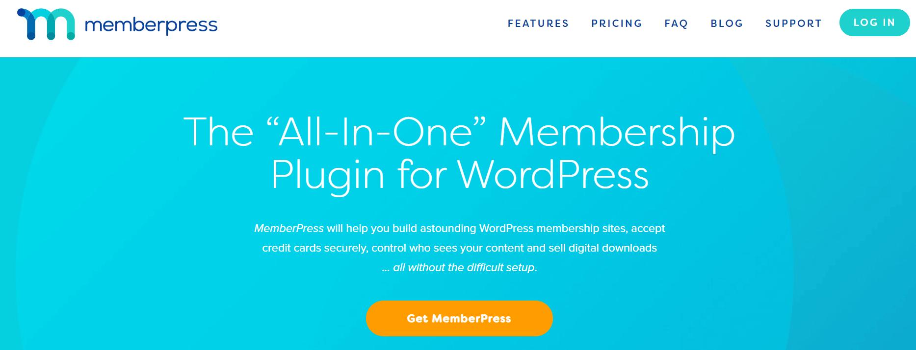A screenshot showing a part of LearnPress's website.