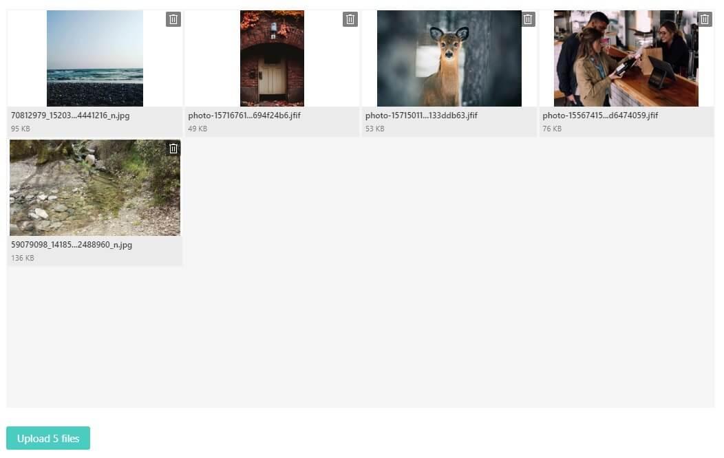 uploading multiple images