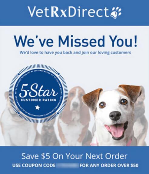 vetrxdirect email example