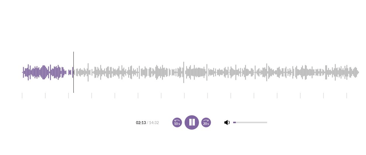 LearnWorlds Audio Player