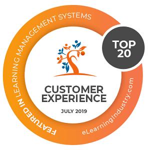 LearnWorlds customer experience award