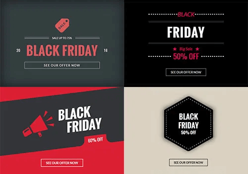 black friday zone examples