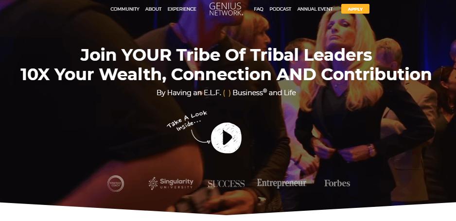 Tribal leaders membership landing page