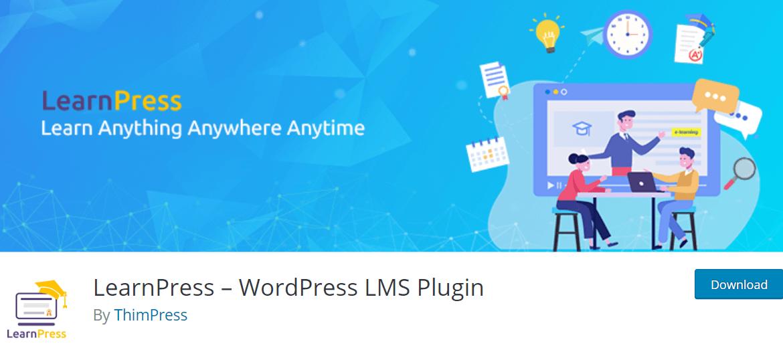 LearnPress Screenshot