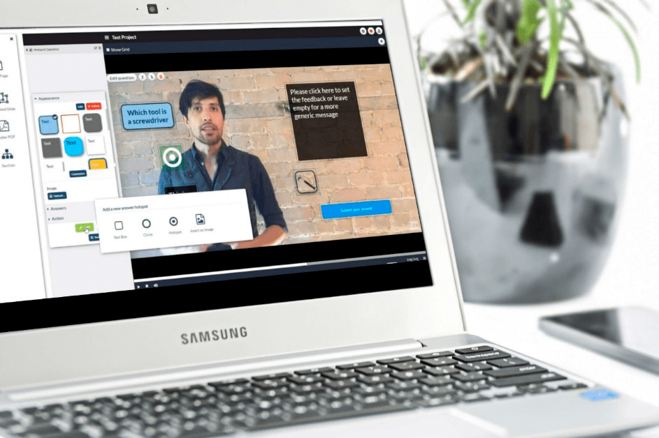how to add interactions to your video course
