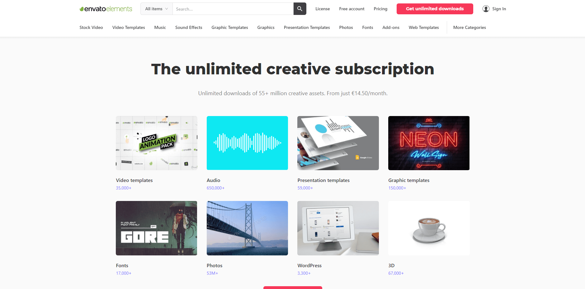creative video assets