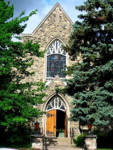 Front Doors at Leaside United Church