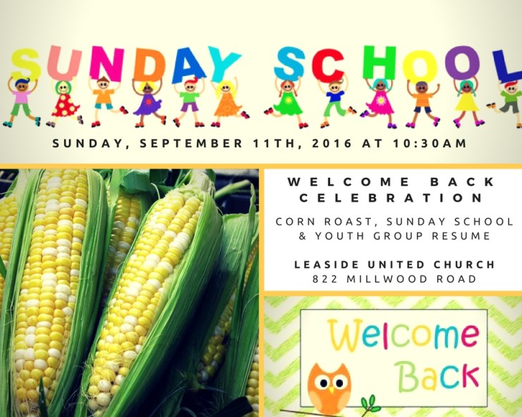 Welcome Back Celebration at Leaside United Church