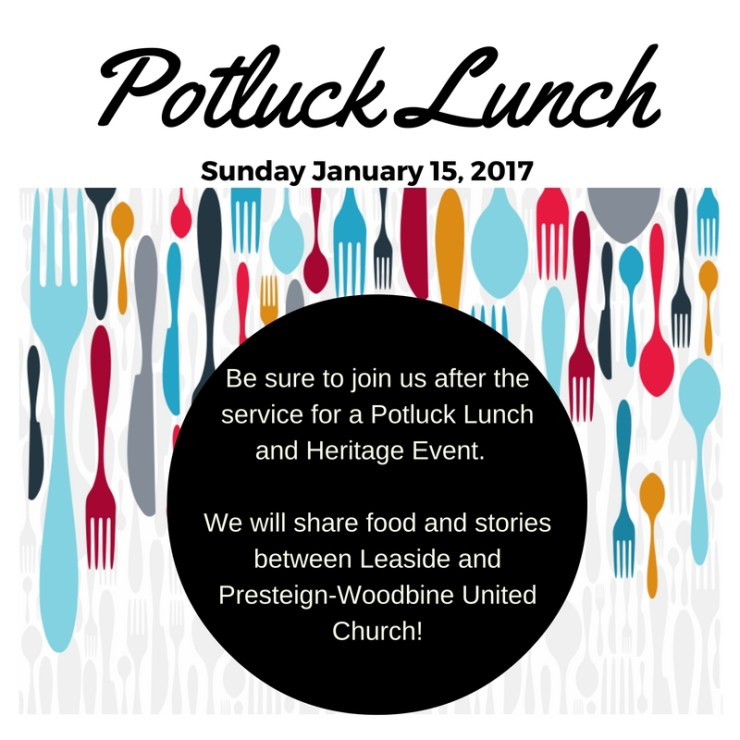Potluck Lunch & Heritage Event