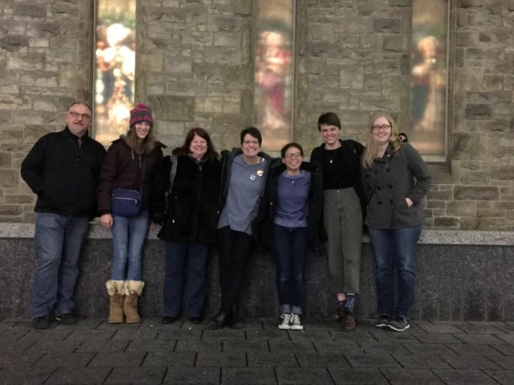 Field Trip to a Rock Eucharist