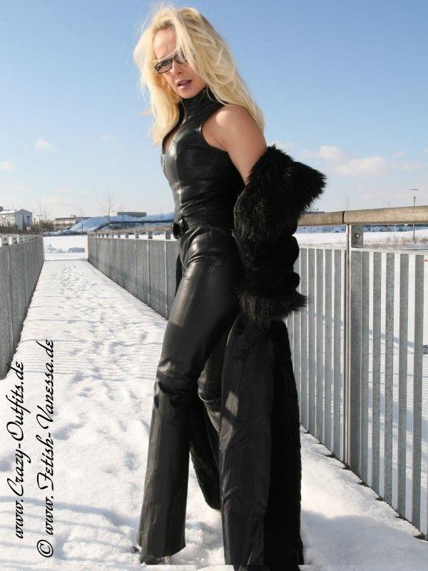 Leather Kingdom Fashion Shop Leather Catsuit DS 086