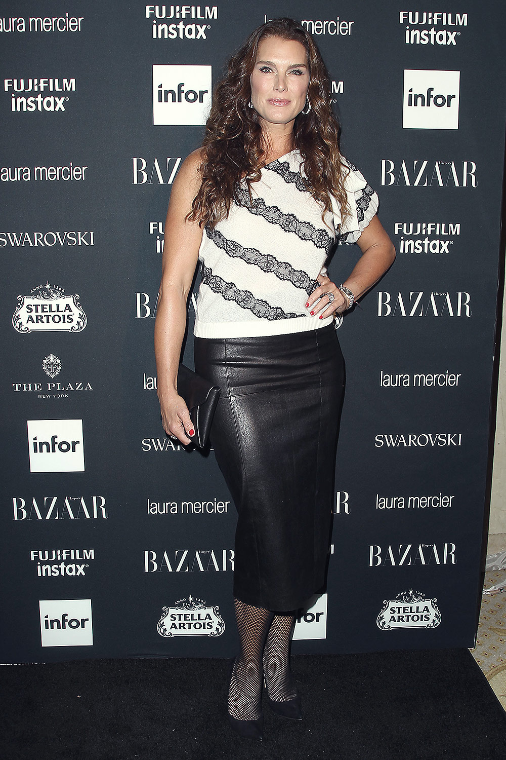 Brooke Shields Attends Harper S Bazaar Icons Party