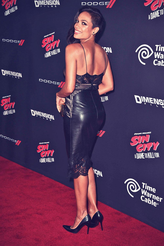 Rosario Dawson Attends The Sin City A Dame To Kill For
