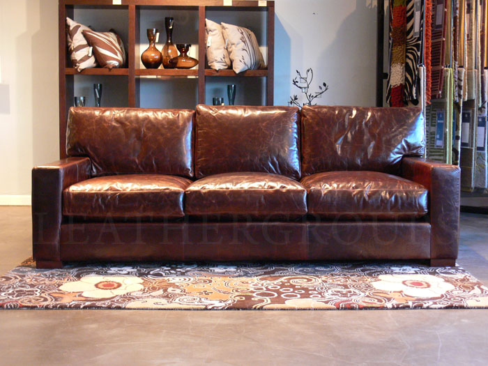 Braxton Leather Sofa Review Krtsy. Furniture ...