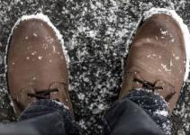 Leather Snow Shoe