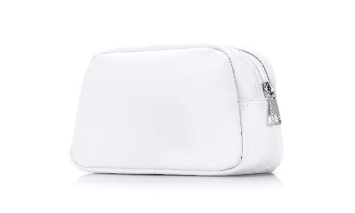 how to clean white leather handbag