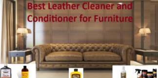 Best Leather Cleaner and Conditioner for Furniture