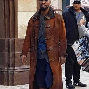 Jamie Foxx Robin Hood Coat