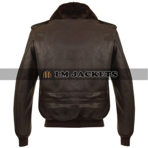 Guardians of the Galaxy 2 Star Lord Brown Leather Jacket