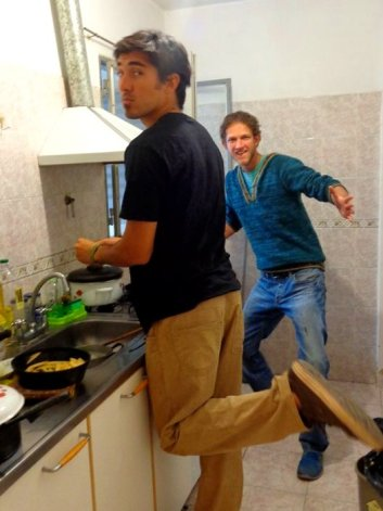 Cooking session