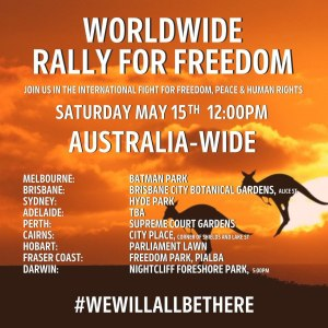 May 15th 2021 Rally for Freedom