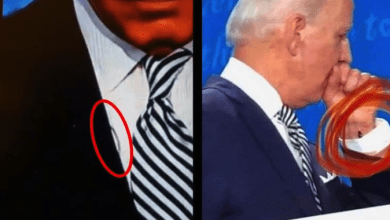 Biden Secret Earpiece