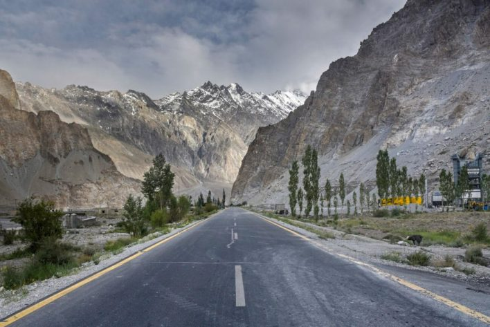 Karakoram Highway China to Pakistan