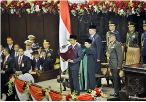 Isi Pidato Pertama Presiden Joko Widodo