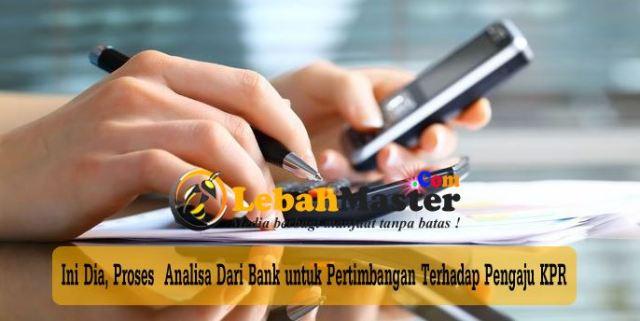 Analisa Bank Pada Pengaju KPR