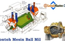 Mesin Ball Mill Industri Material