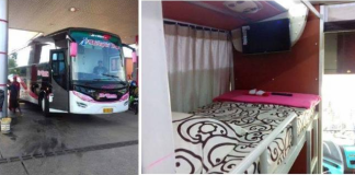 Sleeper Bus pertama Indonesia PO Brilian