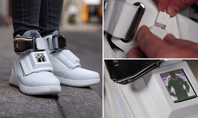 Sepatu Pintar Berteknologi Canggih