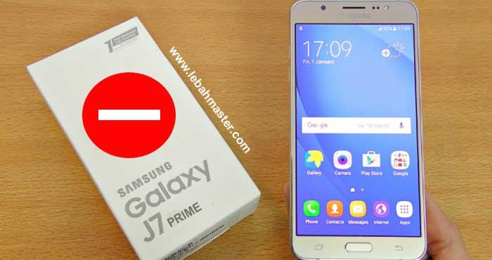 Kekurangan Samsung Galaxy J7 Prime Yang Paling Menganggu