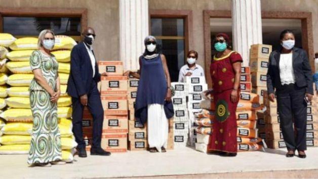 Lutte contre le Covid-19 : Tidjane Thiam fait d'importants dons aux femmes de Cocody