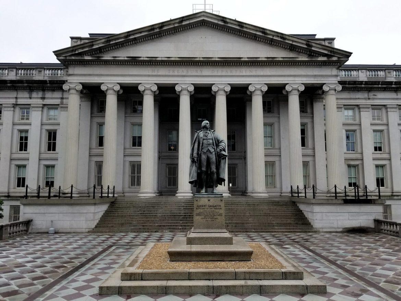 FATCA US Treasury Building