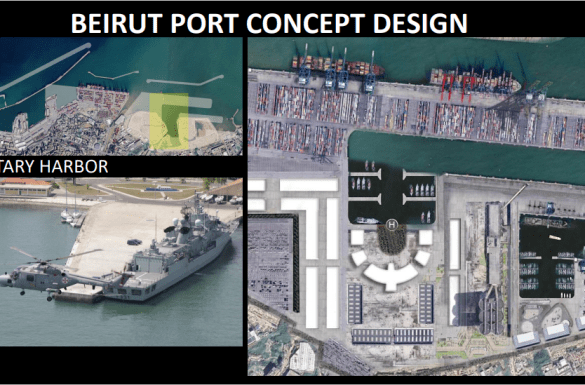 Lebanon Law Review | Port Restoration Project | Architect Charbel Abou Jaoudeh